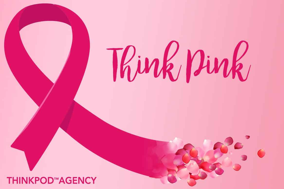 """Featured image for """"ThinkPod Agency is Thinking Pink"""""""