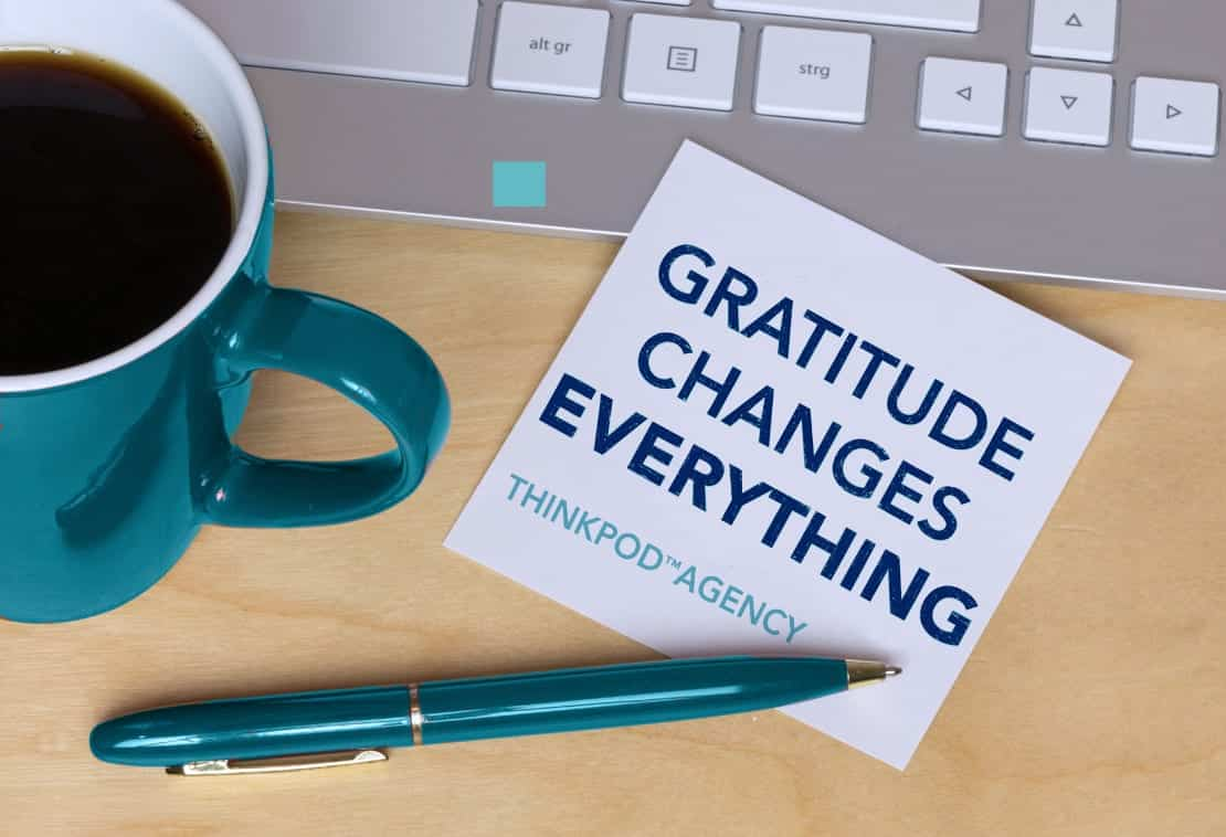 """Featured image for """"A time to be Thankful: ThinkPod Agency's culture of gratitude"""""""